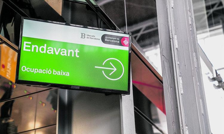 Mercat del Ninot: el wifi evita aglomeracions