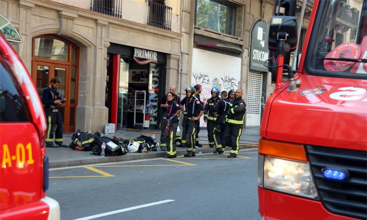 """Bombers de Barcelona: """"La situació ha canviat radicalment"""""""