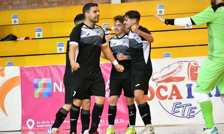 El Barceloneta Futsal, viu en la lluita per pujar