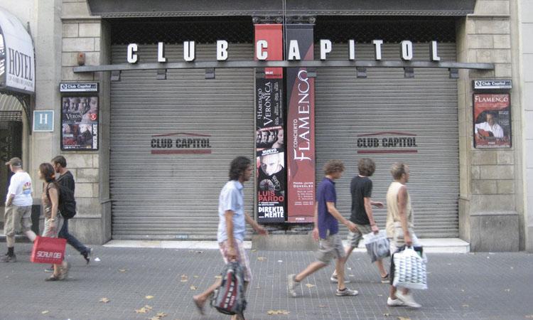 El Club Capitol anuncia que tancarà després de 22 anys
