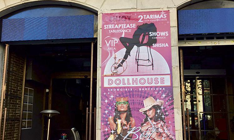 Polèmica per l'obertura d'un club d'striptease a la Rambla