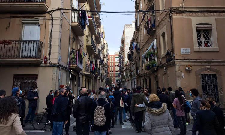 Ciutat Vella, immersa en una onada de desnonaments