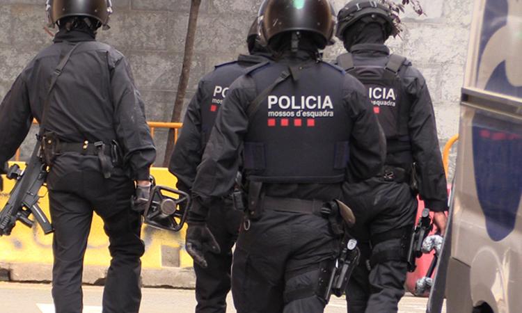 Operació policial contra  lladres de rellotges de luxe