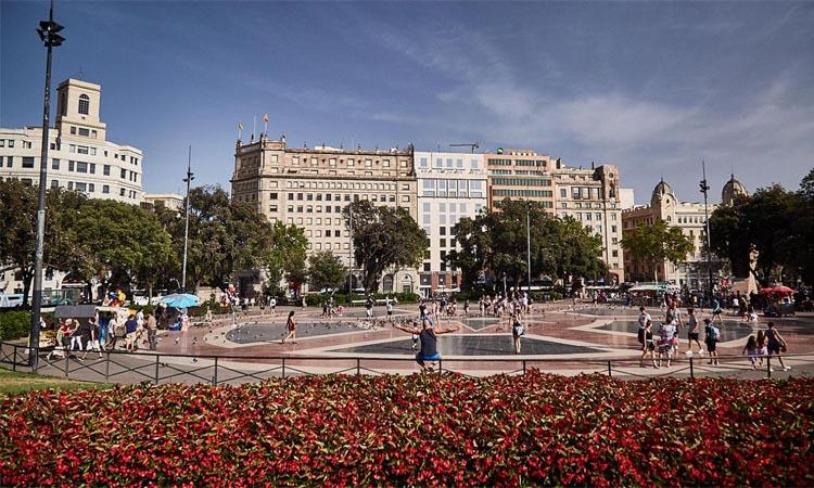 La plaça Catalunya serà enguany l