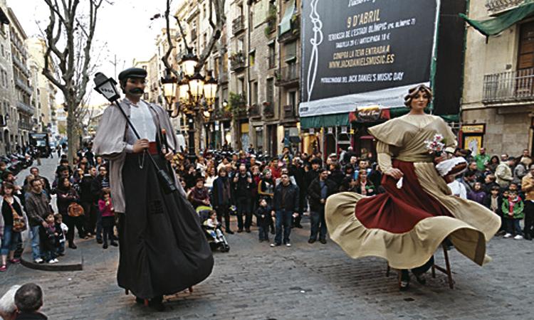 El Casc Antic viu amb intensitat la seva Festa Major