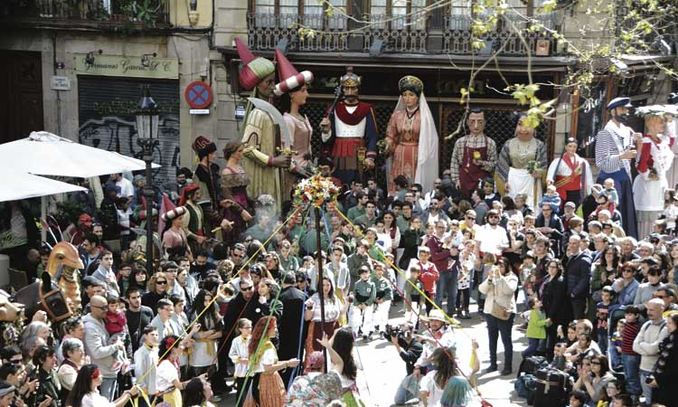 El barri del Pi es queda sense les festes de Sant Josep Oriol