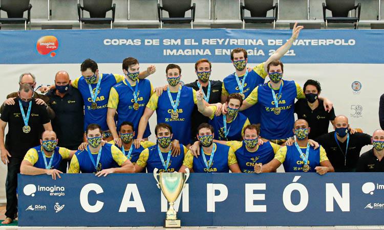 L'Atlètic Barceloneta guanya la novena Copa del Rei consecutiva