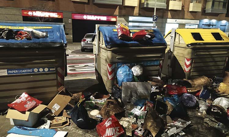 Més reciclatge i menys cotxes, els objectius de Balmón per a aquest mandat