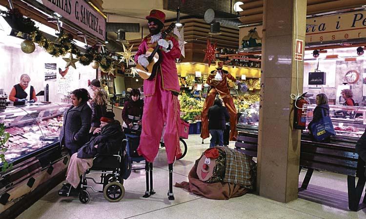 La música i les cercaviles ompliran els mercats i els eixos durant les festes