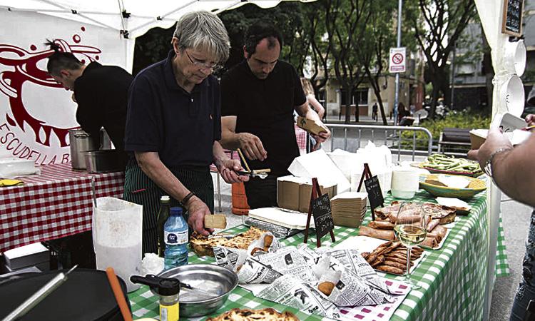 Botigues i parades al carrer per celebrar les festes del Corpus
