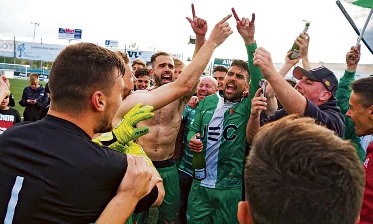 La UECornellà comença el 'play-off' contra la Ponferradina