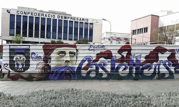 Un itinerari per recórrer tots els murals que hi ha a la ciutat