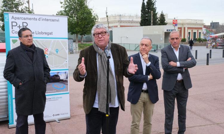 Dos aparcaments d'intercanvi amb 140 places facilitaran l'accés al transport públic