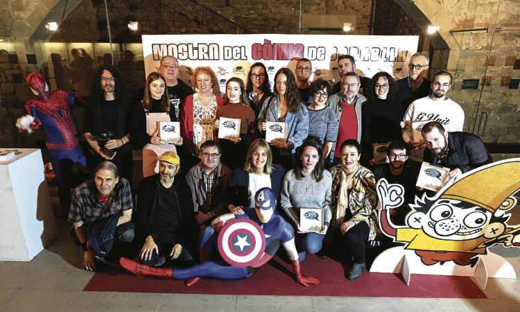 La 35a Mostra del Còmic omple la ciutat de tallers i exposicions