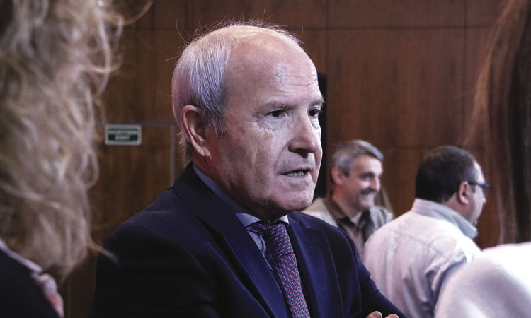 L'expresident Montilla visita Jordi Cuixart a Lledoners