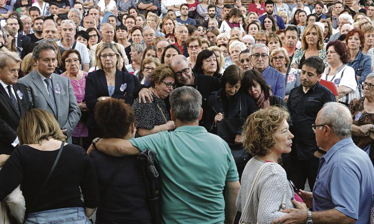 Clam multitudinari contra l'assassinat de Cristina Ortiz