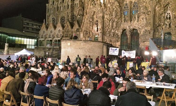 La Sagrada Família es prepara per celebrar la Festa Major