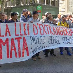 Migrants sense papers i drets laborals