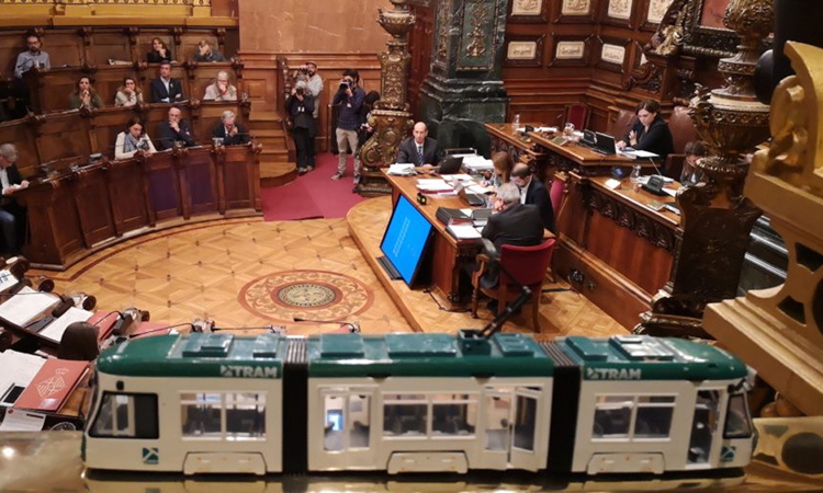 Satisfacció entre les entitats per l'acord per la futura unió del Tram