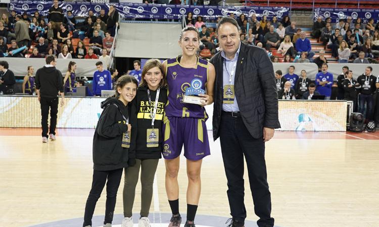 Bárbara Torrón, del Roser, MVP a l'AllStar de Manresa