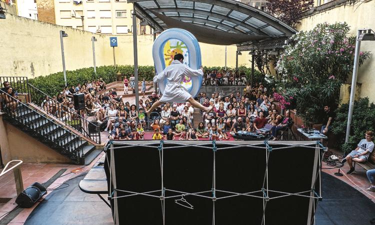 El festival Tangent, a punt de tancar amb èxit
