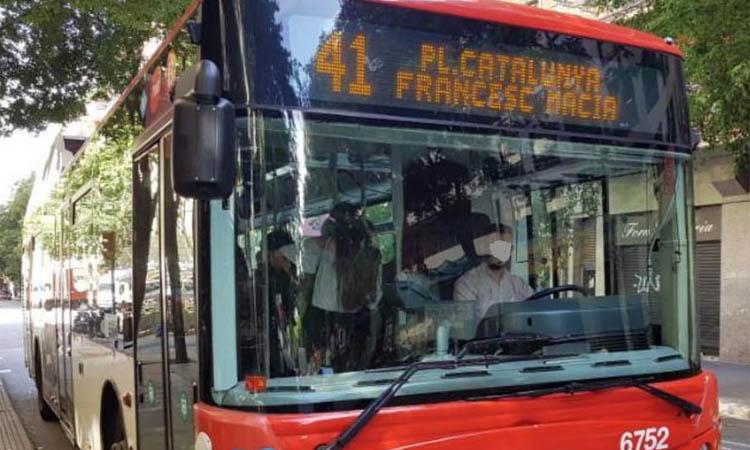 Compte enrere per a la línia que substituirà el bus 41