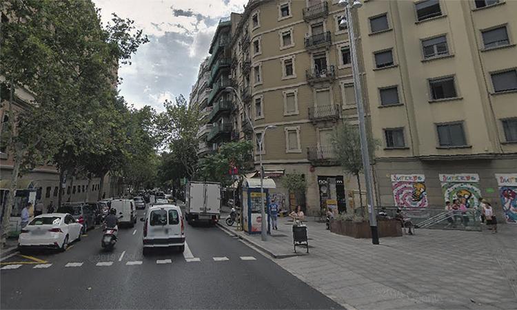 Nou pas per a la unió de plaça Espanya i Gràcia amb ferrocarril