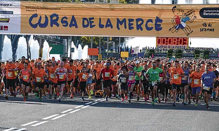 La Cursa de la Mercè es disputarà el 20 de setembre
