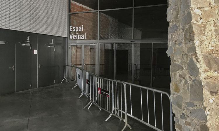L'espai veïnal del mercat de Sant Antoni s'inaugurarà d'aquí a un any