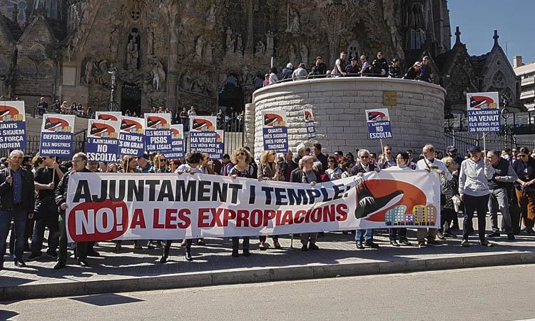 Nou capítol judicial per les obres de la Sagrada Família