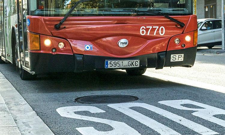 En marxa les obres del nou carril bus del carrer Aragó
