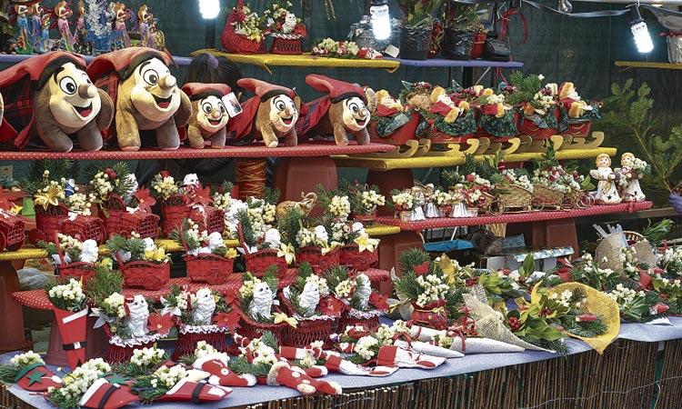 La Fira de Nadal de Sagrada Família tindrà una cinquantena de parades