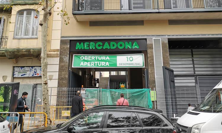 El Mercadona de l'antic Niza obrirà el 10 de desembre