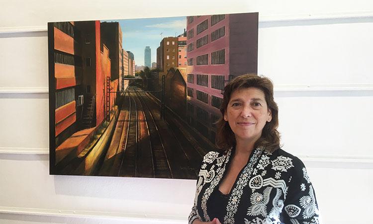 Silenci, façanes i confinament: Martín Royo exposa a la galeria Jordi Barnadas