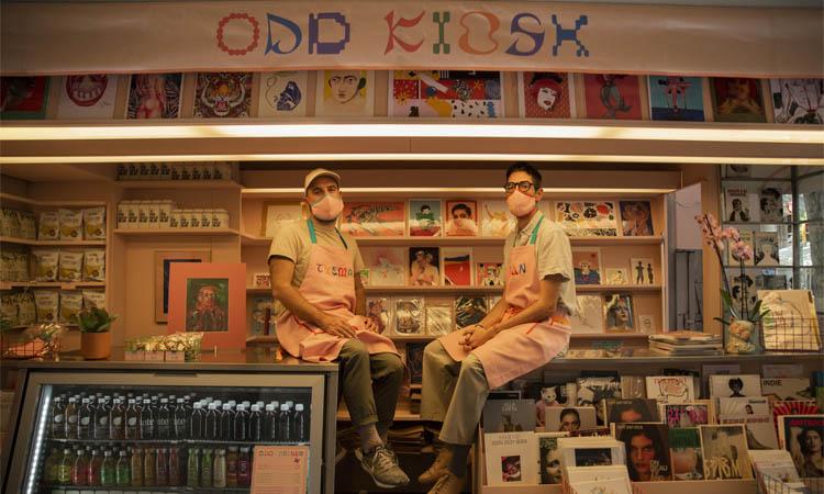Odd Kiosk: molt més que un quiosc
