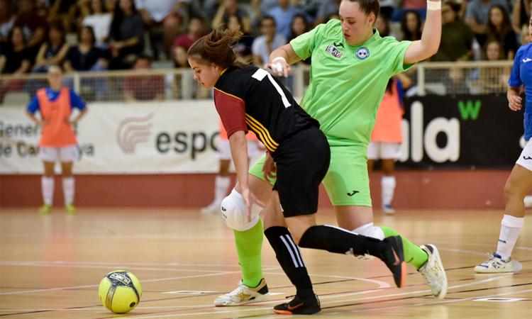 El CFSEixample, subcampió de la Copa Catalunya femenina