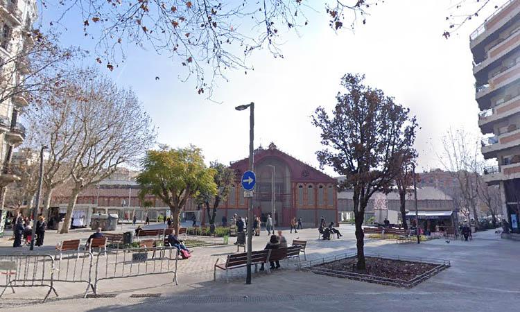 Sant Antoni ja té la plaça de Conxa Pérez Collado