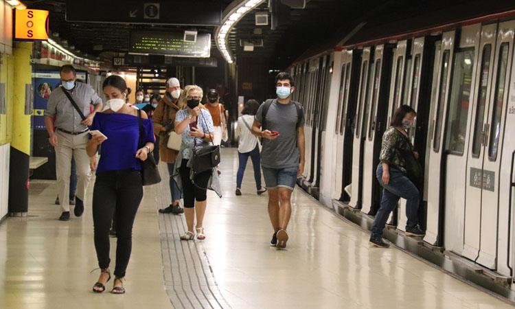 El transport públic metropolità va tenir una caiguda del 46% l'any passat
