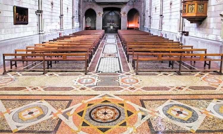 Una parròquia per conèixer un altre Gaudí