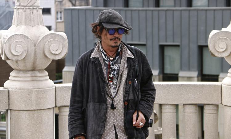 Johnny Depp, a Gràcia