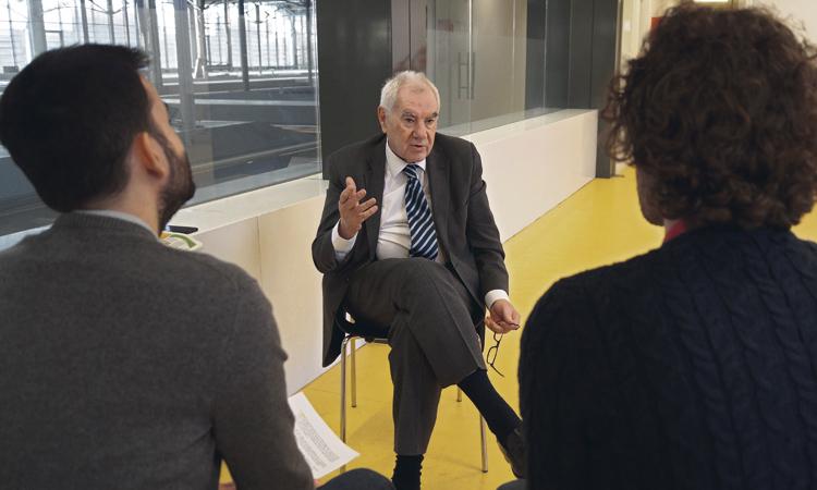 """Maragall: """"Vull retornar l'Ajuntament a la ciutat; s'ha perdut la complicitat"""""""