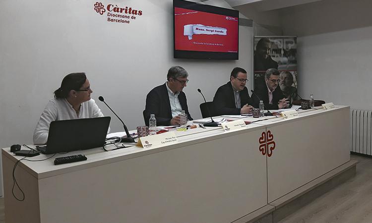 Càritas va atendre 265 llars de Gràcia durant el 2018