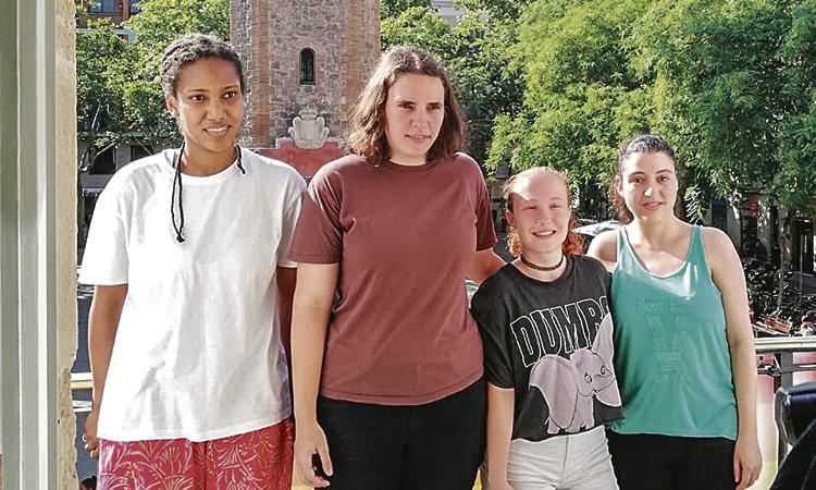 Jugadores de l'equip adaptat dels Lluïsos faran el pregó de la Festa Major