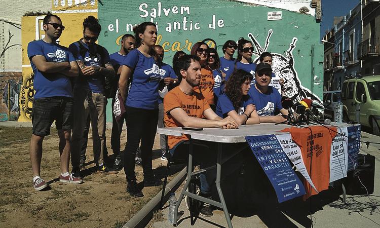 El Sindicat de Llogaters tomba un augment abusiu a Vallcarca