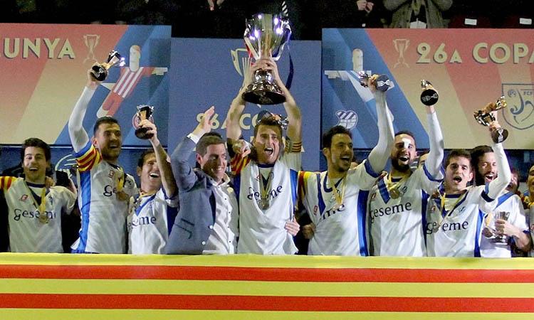Cinc anys de l'última Copa Catalunya de l'Europa