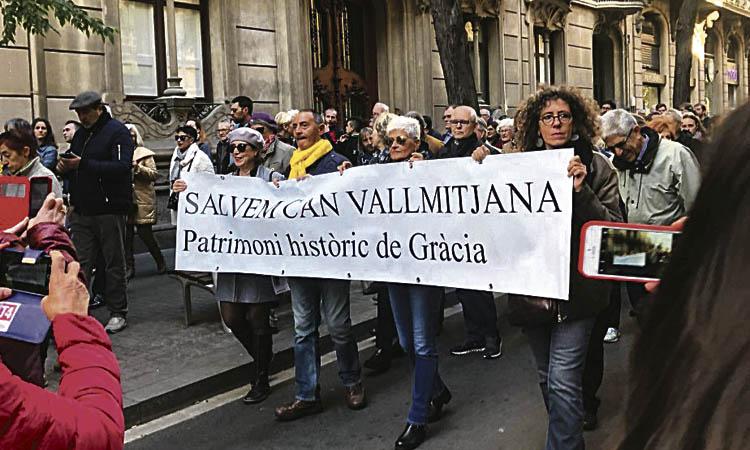Mobilització per protegir l'antic taller de Vallmitjana
