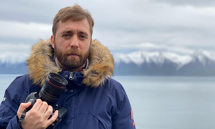 Èric Lluent, un periodista gracienc que guia 'El Far de Reykjavík' des d'Islàndia