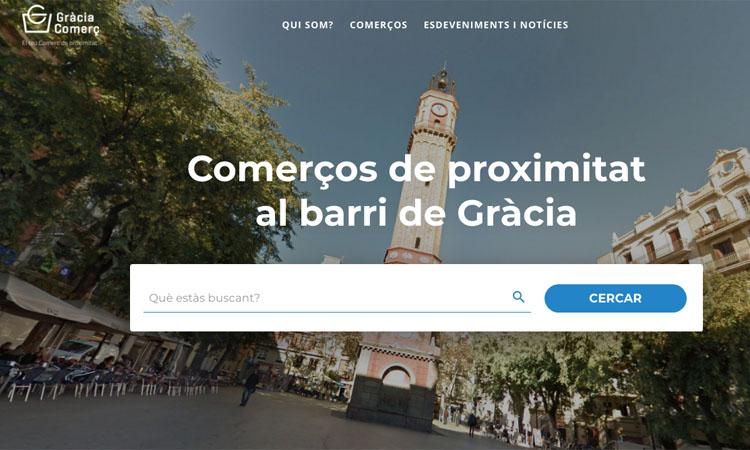 En marxa el portal Gràcia Comerç