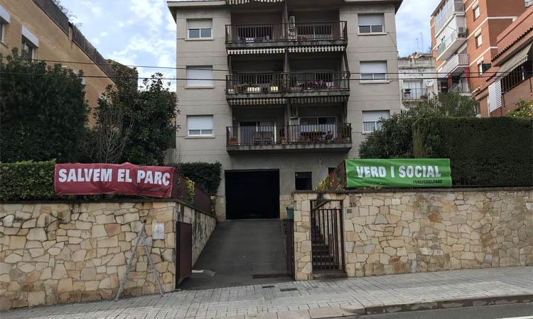 Protesta a Vallcarca i els Penitents per defensar dos espais verds
