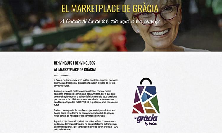 Neix una plataforma digital per reforçar el comerç gracienc